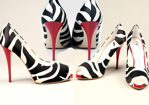 pumps and heels. Zanotti Zebra print Pumps