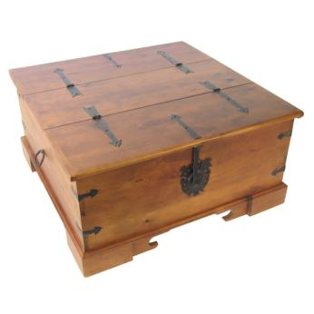 Dress your pad in style fashionably yours - Trunk style coffee tables ...