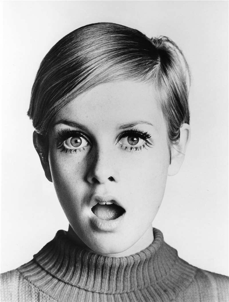 Twiggy: Her overdramatic lashes are in vogue now